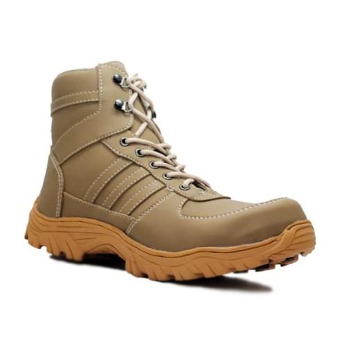 Foto Produk Sepatu Pria Cut Engineer Safety Boots Apple Iron Leather Gray dari Cut Engineer