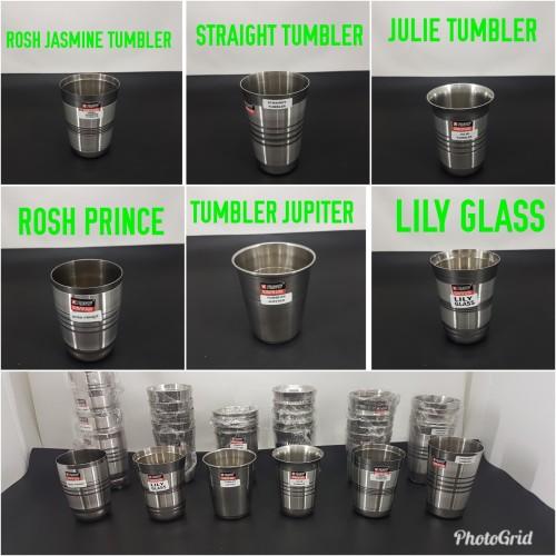 Foto Produk Gelas stainless steel Made In India TEBAL Limited Edition dari AngelinaThren