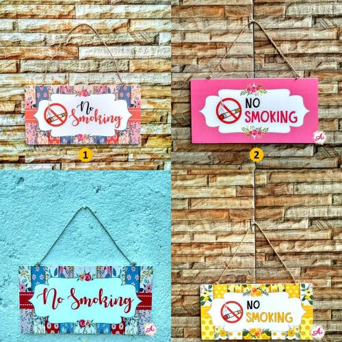 Foto Produk Wall Decor l Hiasan Dekorasi Rumah Shabby: No Smoking 2 dari ai_decor