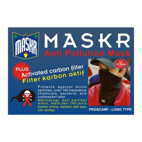 Foto Produk MASKR.. Anti Pollution With Activated Karbon Filter.. Long Type.. dari ONO SHOP