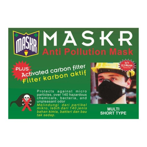Foto Produk MASKR.. Anti Pollution With Activated Karbon Filter.. Short Type.. dari ONO SHOP
