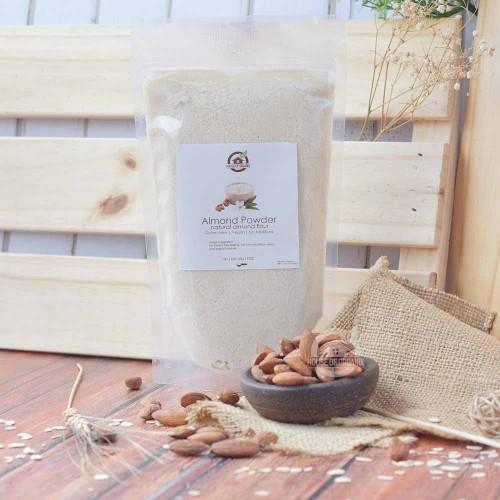 Foto Produk Natural Almond Meal / Flour ( Tepung Kacang Almond ) 500 Gr dari House Of Organix