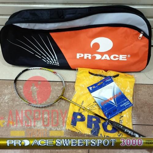 Foto Produk RAKET BADMINTON PROACE SWEETSPOT 3000 dari Anspody Sport