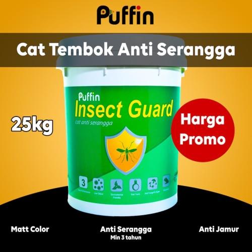 Foto Produk Cat tembok anti serangga Puffin Insectguard 25kg dari puffinpaint