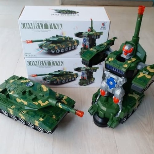 Foto Produk MAINAN MOBIL ROBOT COMBAT WAR TANK DEFORMATION MILITARY WAR TANK BESAR dari Toys Kingdom18