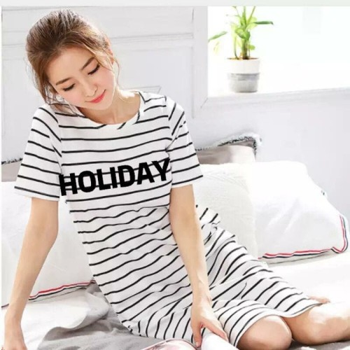 Foto Produk DRESS HOLIDAY / BAJU SANTAI DRESS RUMAHAN CASUAL dari yopyshop
