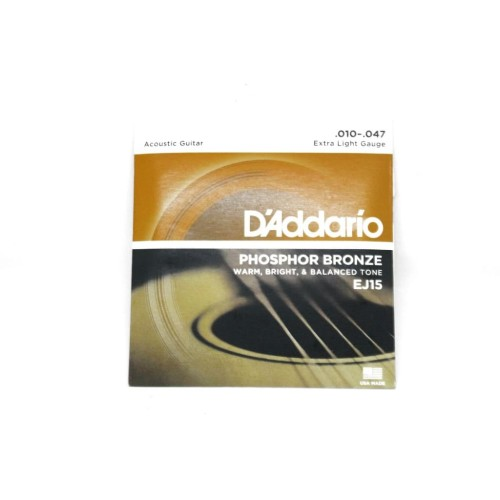 Foto Produk Senar Gitar Akustik D'addario String EJ13 EJ15 - Orange dari ShinpoStore