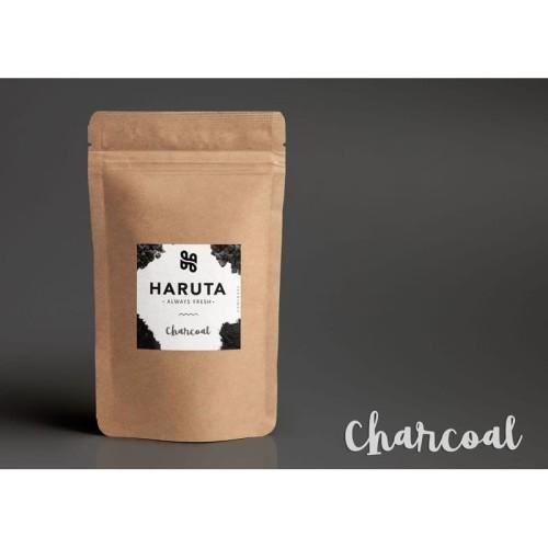 Foto Produk Masker bubuk organik Charcoal 50 gram masker wajah arang dari Haruta