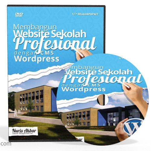 Foto Produk DVD Tutorial Membangun Website Sekolah Dengan CMS Wordpress dari tutorial pemograman
