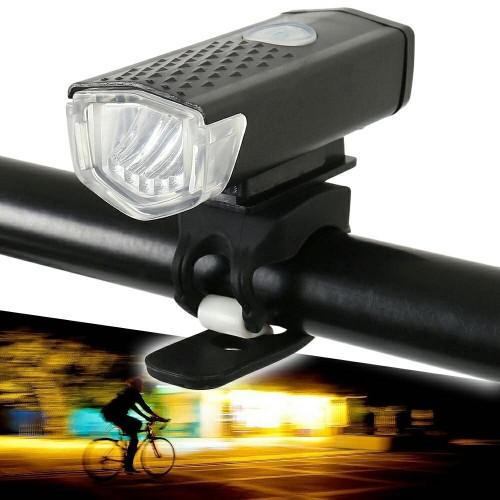 Foto Produk Lampu Depan Sepeda LED Battery Charge / Bicycle LED USB Rechargeable dari Uppala Shop