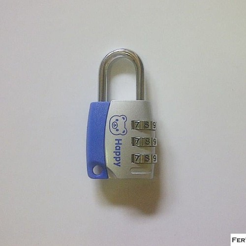 Foto Produk Gembok Nomor Kombinasi 3 digit CJSJ tipe A - Gembok Angka - Gembo dari atmarinishop