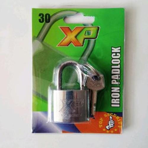 Foto Produk Gembok 30 pendek merk XP grab it fast dari atmarinishop