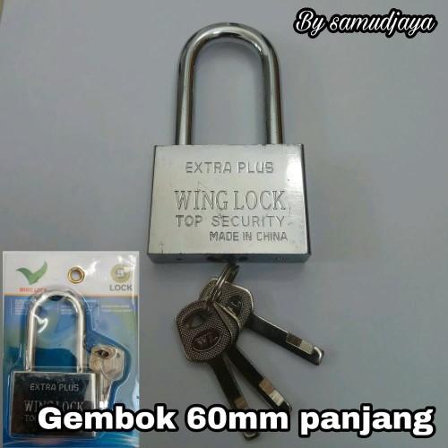 Foto Produk gembok 60mm panjang new item dari atmarinishop