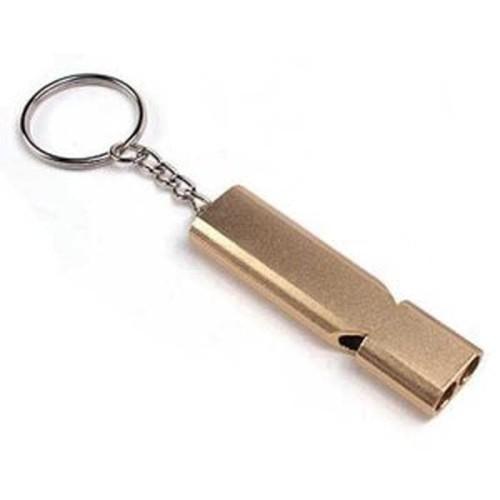 Foto Produk Gantungan Kunci Peluit Aluminium - Z6482 new item dari atmarinishop