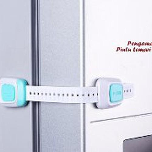 Foto Produk KUNCI PENGAMAN LACI PINTU KULKAS STRAP LEBIH PANJANG home tools dari atmarinishop