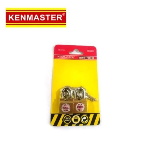 Foto Produk Murah Bagus Kenmaster 16mm 2pcs Security lock gembok set 16 mm ak dari atmarinishop