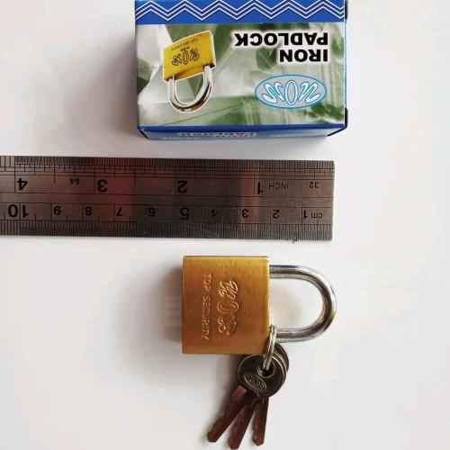 Foto Produk Gembok kuning 30mm merk Vion grab it fast dari atmarinishop
