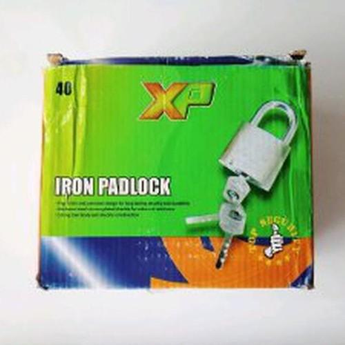 Foto Produk Gembok 40 pendek merk XP stok terbatas dari atmarinishop