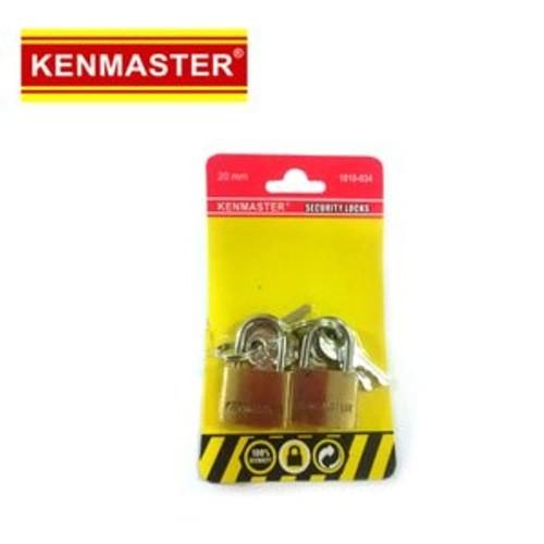 Foto Produk Murah Bagus Kenmaster Security lock gembok set 20 mm - Kenmaster dari atmarinishop