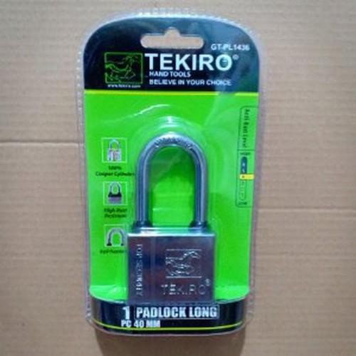 Foto Produk Gembok TEKIRO 40mm Panjang Kunci Gembok aksesoris rumah tangga dari atmarinishop