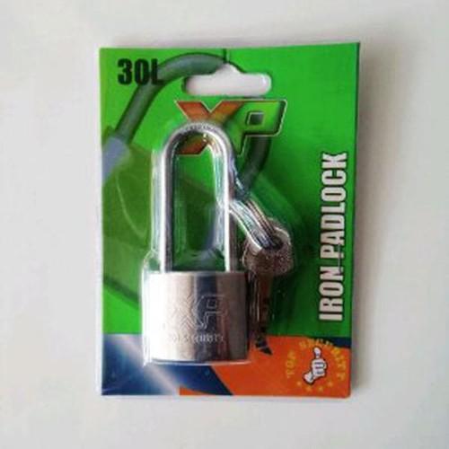Foto Produk Gembok 30 panjang merk XP alat murah dari atmarinishop