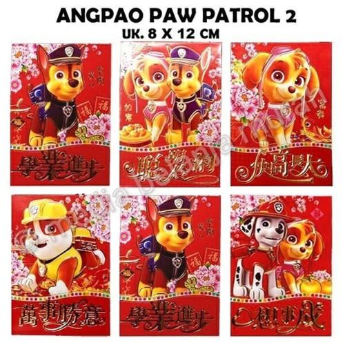 Foto Produk Unik ANGPAO PAW PATROL 2 AMPLOP ANGPAO IMLEK KARAKTER UNIK Mura dari atmarinishop
