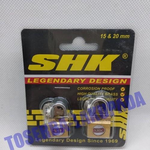 Foto Produk Gembok Koper Original SHK Legendary Design 15MM & 20MM - Sherlock dari atmarinishop
