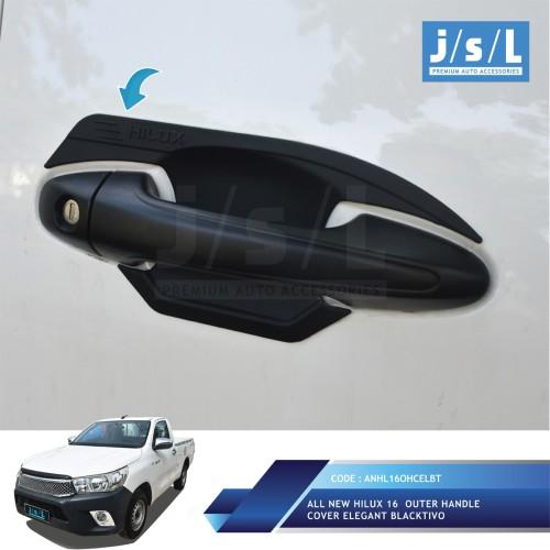 Foto Produk Toyota All New Hilux Outer Handle Cover Elegant Blacktivo JSL Mobil dari Era Otomotif