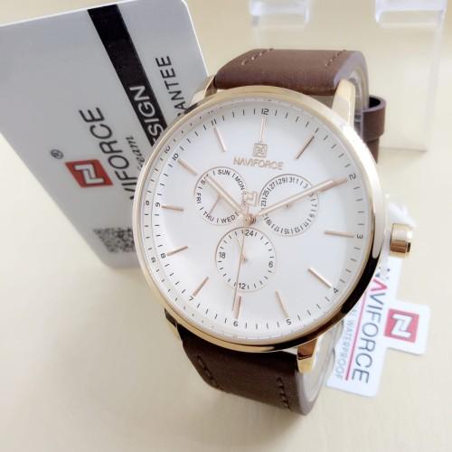 Foto Produk jam tangan NAVIFORCE 3001 ORIGINAL PRIA FORMAL WATCH LEATHER dari Multyshop MSI
