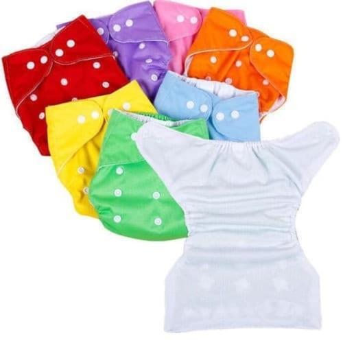 Foto Produk Clodi Diaper Popok Kain Berkancing | Popok Bayi Anti Bocor - Merah Muda dari bobo baby shop