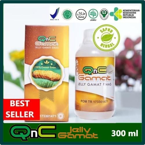 Foto Produk Obat Benjolan di Testis - Nyeri Testis - QnC Jelly Gamat dari AGEN OBAT HERBAL WALATRA
