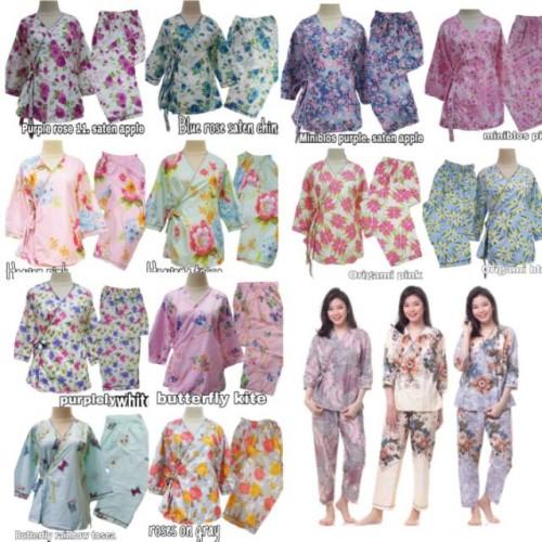 Foto Produk Diskon IZANY kimono dewasa satin china merak corina dari cilistore77