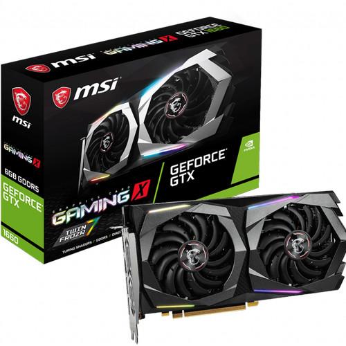 Foto Produk MSI GTX 1660 GAMING X 6GB GDDR5- 1660 GAMING X 6G dari toko expert komputer