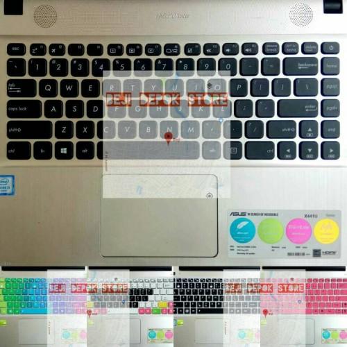 Foto Produk Keyboard Protector Asus Vivobook MAX X441UB X441NA X441B X441S X441M - Transparent dari Beji Depok Store
