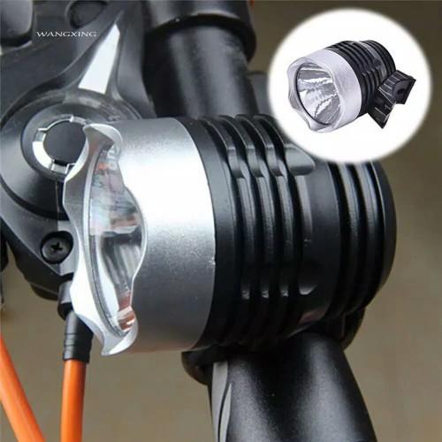 Foto Produk Lampu Depan Sepeda LED 3 Mode Light / Bicycle Front LED Lamp dari Uppala Shop
