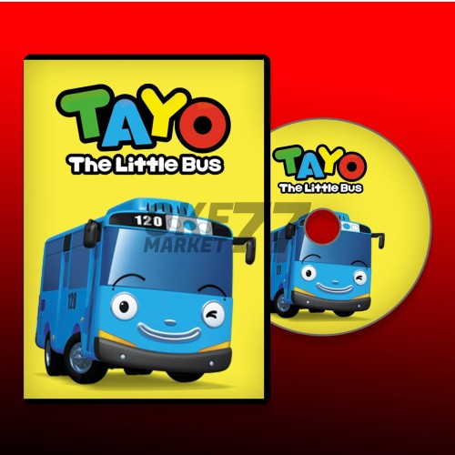 Foto Produk DVD FILM ANAK TAYO THE LITTLE BUS dari OKE MARKET 77