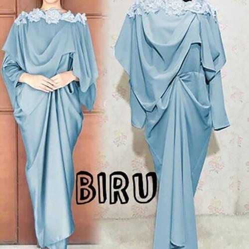 Foto Produk Paling Laris Maxi Prinsa Long Dress Maxmara Gamis Semi Kaftan Baju dari Bricqie Liu