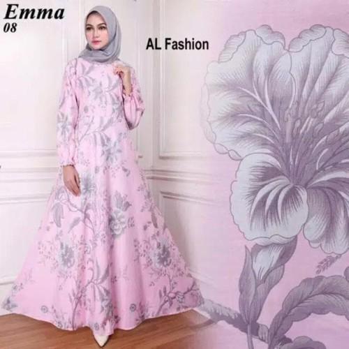 Foto Produk Paling Laris Gamis Maxi Dress Emma 8 - Baju Gamis Wanita Terbaru Busui dari Bricqie Liu