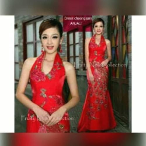 Foto Produk Paling Murah Maxy Dress Imlek dari Bricqie Liu
