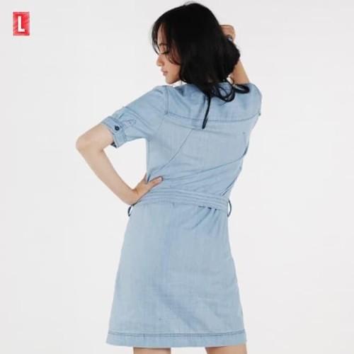Foto Produk Paling Murah Dress Lengan Pendek Cadenza Mini Dress ( 72006L2Ll ) Logo dari Bricqie Liu