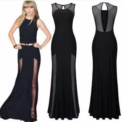 Foto Produk Paling Laku Dress Black Jaring dari Bricqie Liu