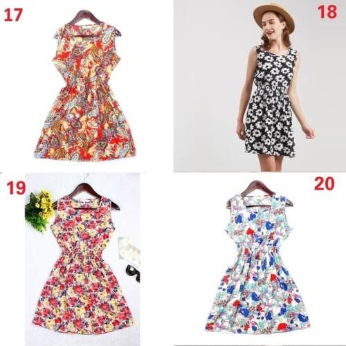 Foto Produk Terlaris Summer Dress Flower - Pastel dari Bricqie Liu