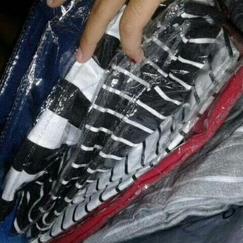 Foto Produk Terlaku Mini Dress Salur / Stripe dari Bricqie Liu