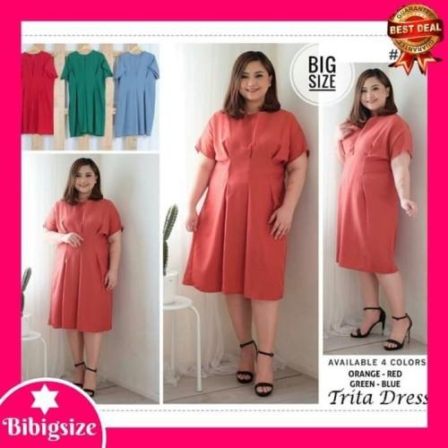 Foto Produk Terlaku Dress Jumbo Wanita 444 - Baju Mini Dress Jumbo 444 - Biru dari Bricqie Liu