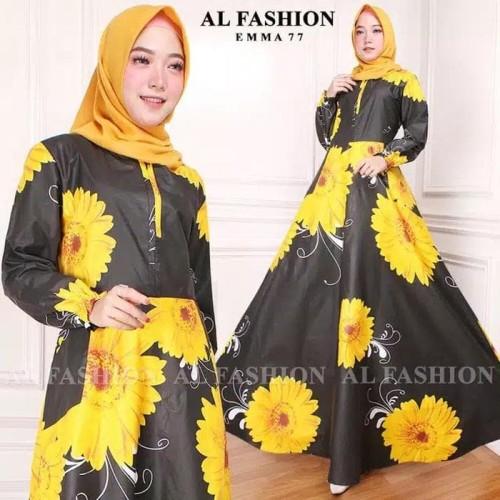 Foto Produk Paling Laku Gamis Maxi Dress Emma 77 - Gamis Wanita Terbaru Long Dress dari Bricqie Liu