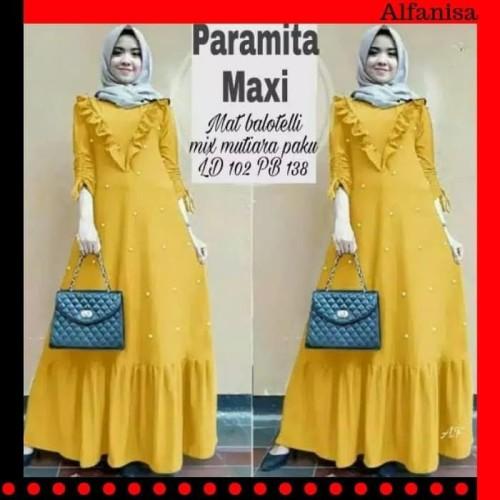 Foto Produk Paling Laris Maxi Dress Wanita 218 / Baju Dress Wanita Terbaru 218 - dari Bricqie Liu