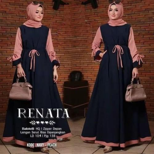 Foto Produk Terlaris Gamis Remaja Modern Muslim Dress Remaja Trendy Berkualitas dari Bricqie Liu