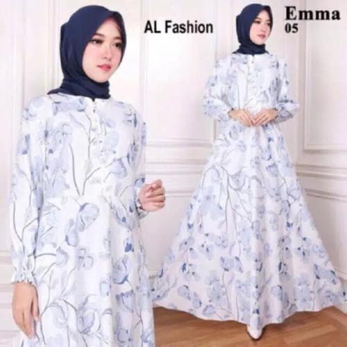 Foto Produk Terlaris Gamis Maxi Dress Emma 5 - Baju Gamis Wanita Busana Muslim dari Bricqie Liu