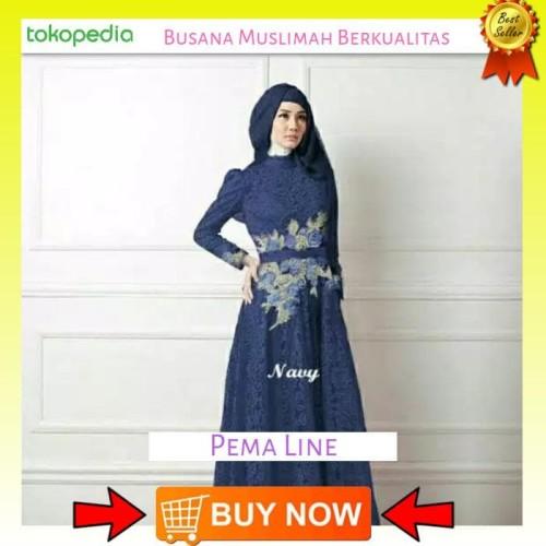 Foto Produk Termurah Gamis Rosalinda Dress Pesta Hijab Fashion Wanita Muslim dari Bricqie Liu
