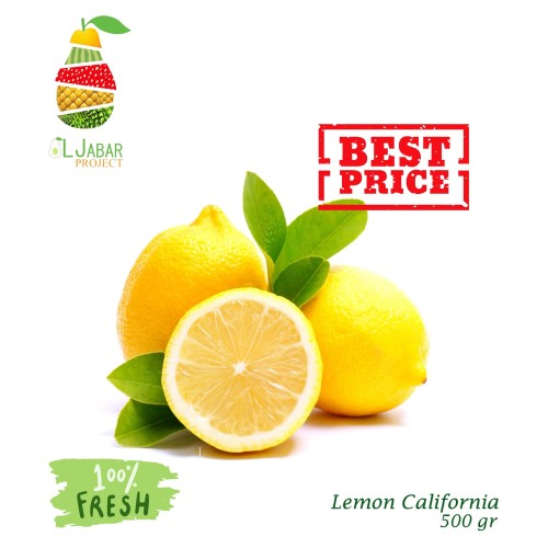 Foto Produk Lemon Import​ Fresh / Lemonade / Jeruk / Lemon dari Aljabar Project